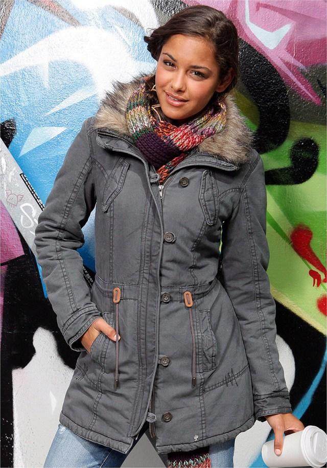 Зимняя женская куртка аляска – фото новинки сезона