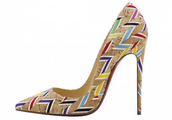 Необычный декор модных туфель лабутенов – фото новинки сезона