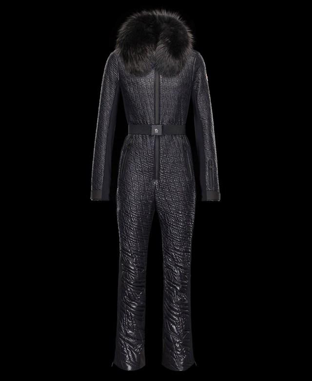 Зимний женский комбинезон – фото новинки в новой коллекции Монклер