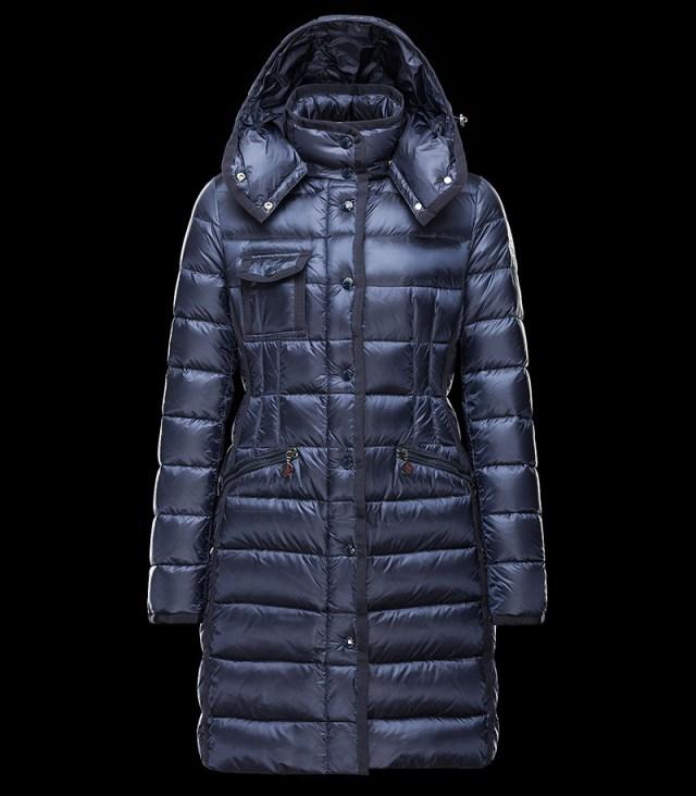 Модный пуховик трапеция из новой коллекции верхней одежды Moncler