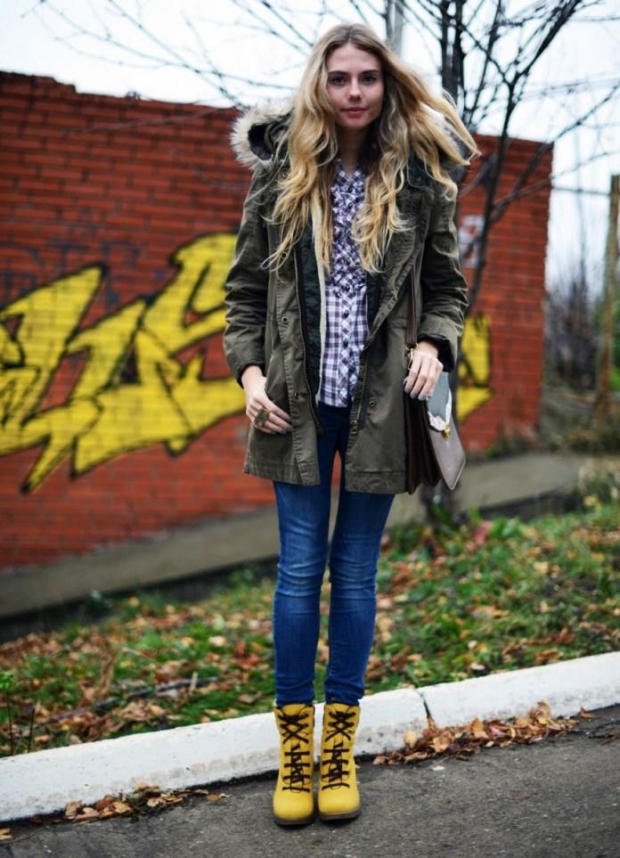 Модная зимняя парка – фото новинки, с чем носить парку