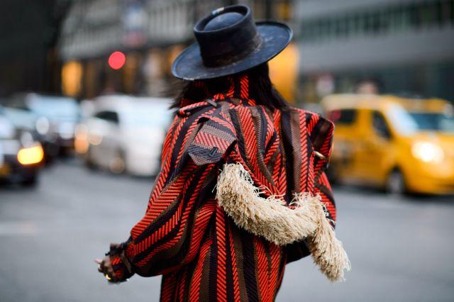 Уличная мода Нью-Йорка осень-зима 2016-2017