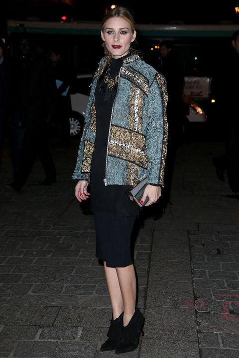 Новый модный лук Оливии Палермо сезона 2016.