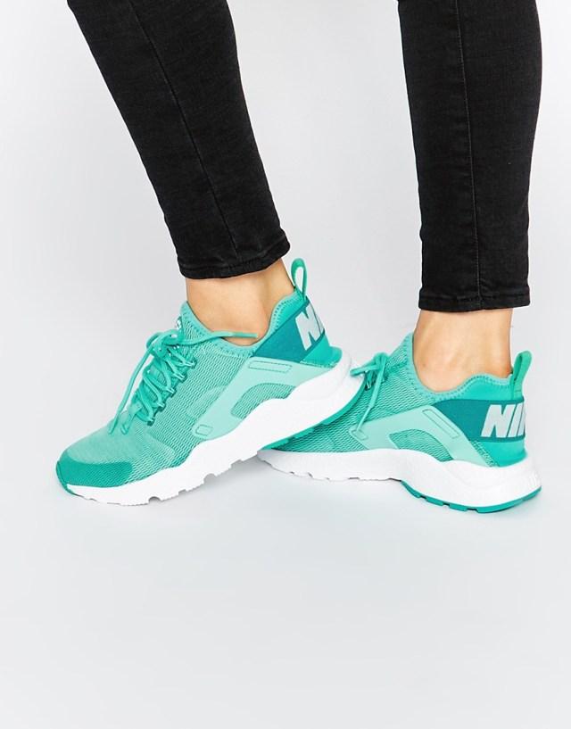 Голубые кроссовки Nike Hyper Air Huarache Ultra