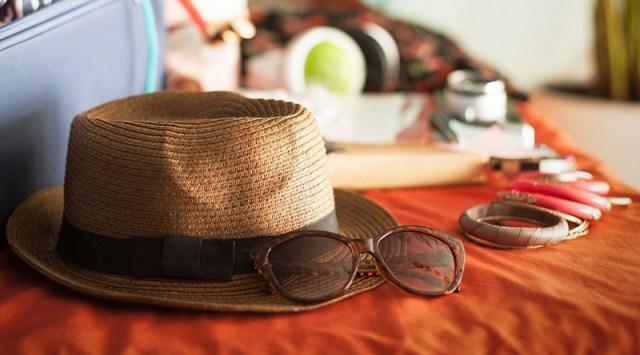 Шляпка просто незаменима для летнего отпуска.