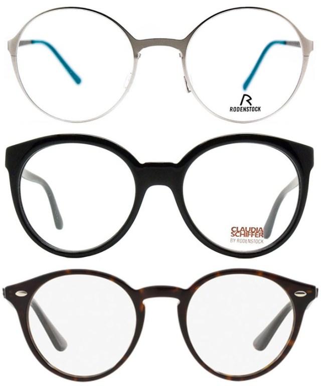 Модные очки и оправы круглой формы - новинки 2016 года
