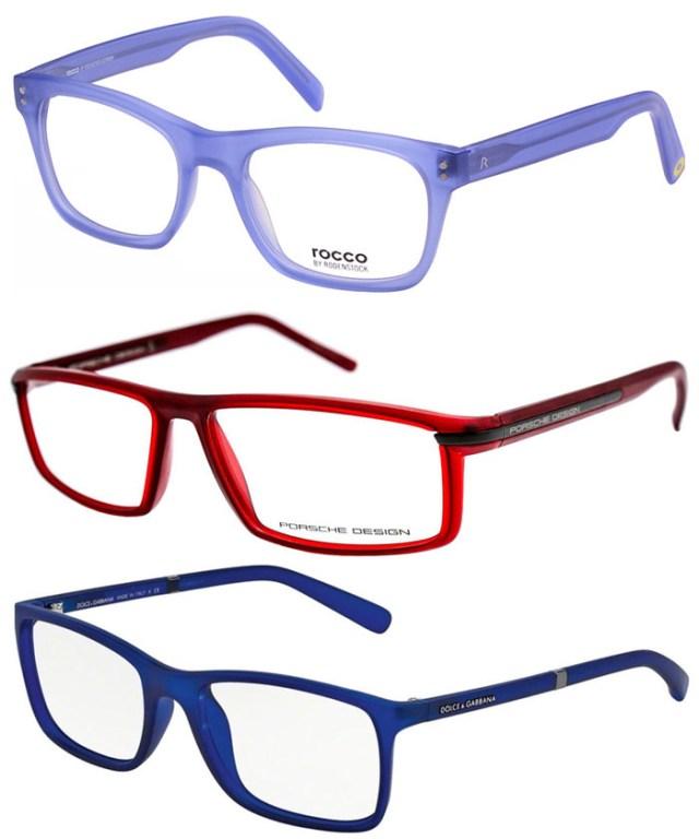 Оправы и очки ярких цветов - тренды 2016 года