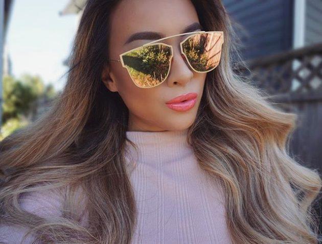 Модные солнечные очки 2016: круглый и овальный кошачий глаз.