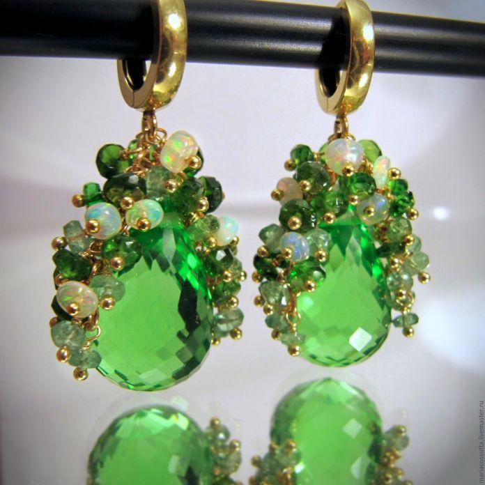 Зеленый опал - загадочный двуликий камень. Кому подходит опал?