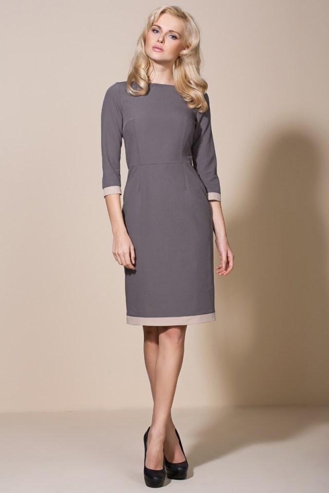 Нежное платье футляр - популярный фасон платья
