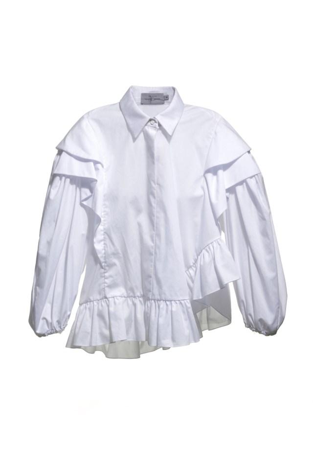 Необычные рубашки – хит сезона фото обзор из коллекции Preen-by-Thornton-Bregazzi.