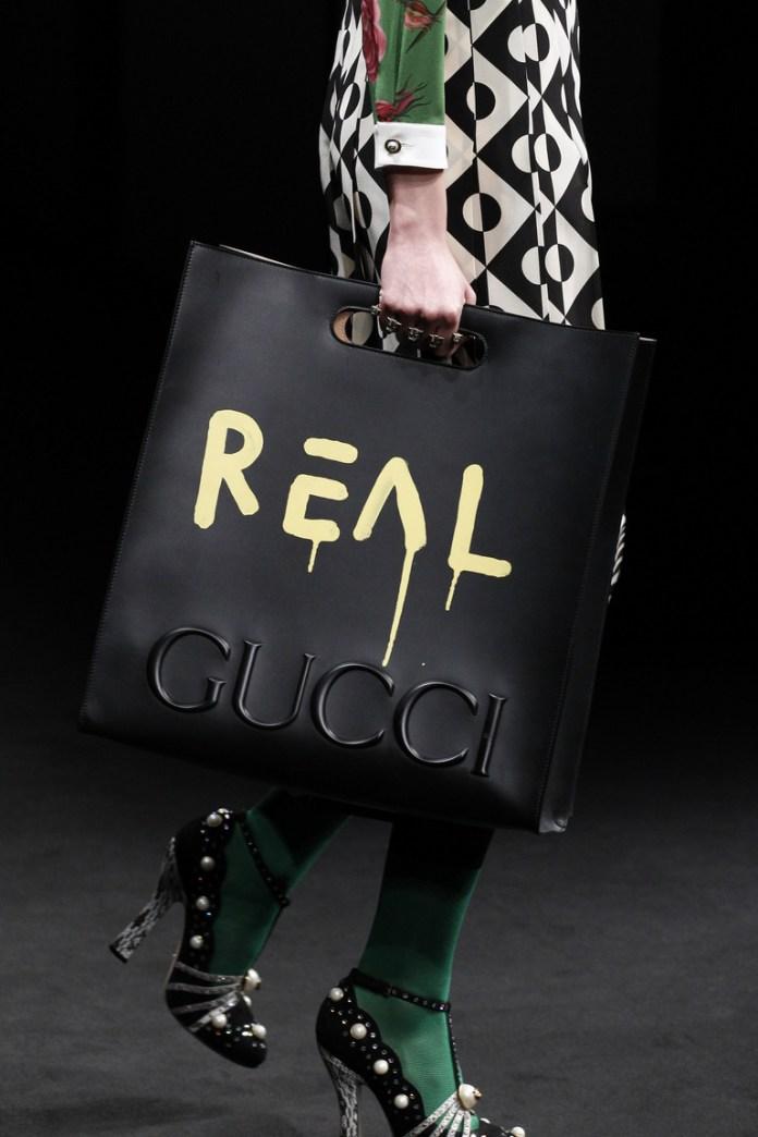 На фото: модная модель сумки осень-зима 2016-2017 из коллекции Gucci.