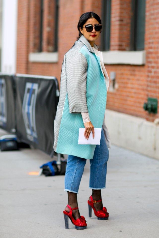 На фото: одежда уличной моды осень зима 2016-2017.