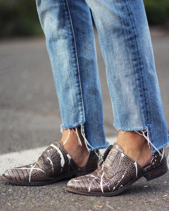 Модные джинсы: одни крутые джинсы и 32 разных сочетаний