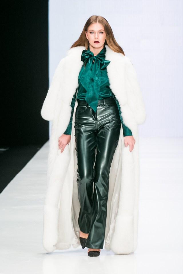 На фото: новый модный образ из коллекции Bella-Potemkina.