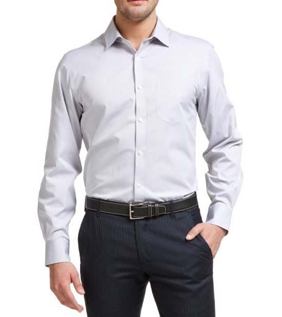 Рубашка без пиджака