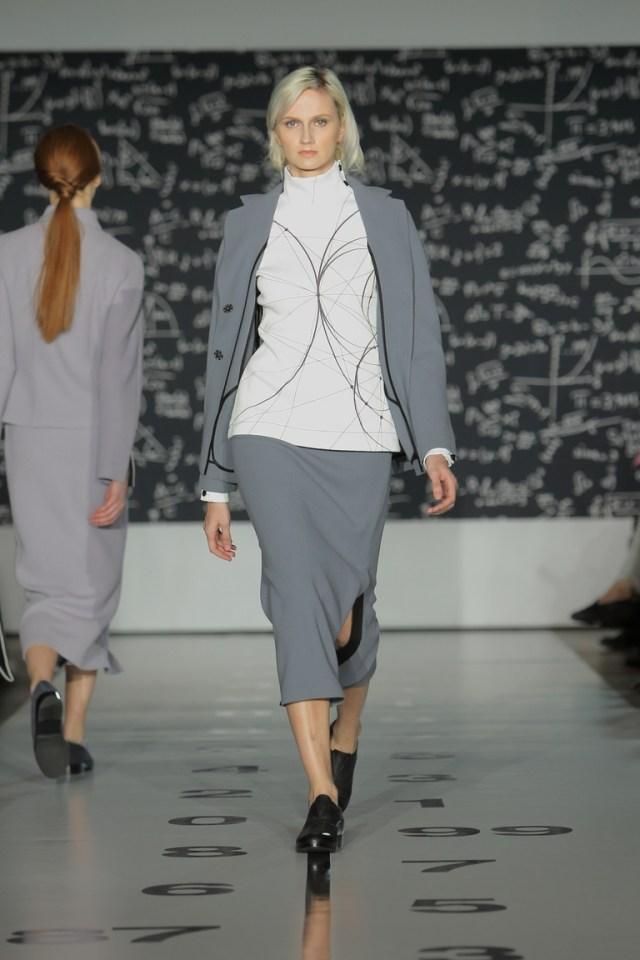 На фото: новый крутой модный образ из коллекции Tatyana-Parfionova.