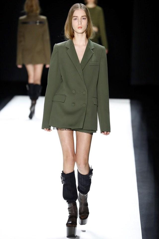 Модные пиджаки размера оверсайз осень 2016 и зима 2017 фотообзор коллекции Vera-Wang.