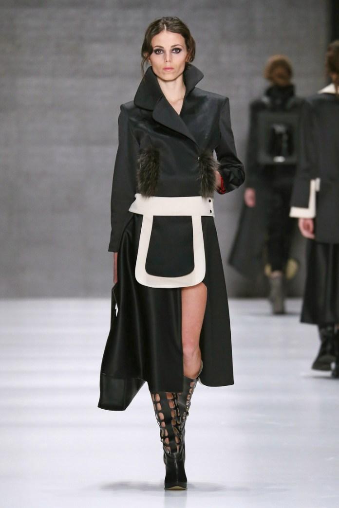 На фото: новый модный образ из коллекции Salle-de-mode.