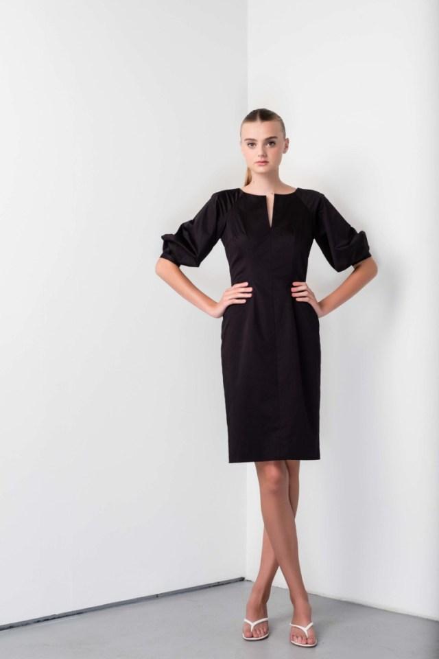 Модное деловое платье футляр 2017 из коллекцииBarbara Tfank