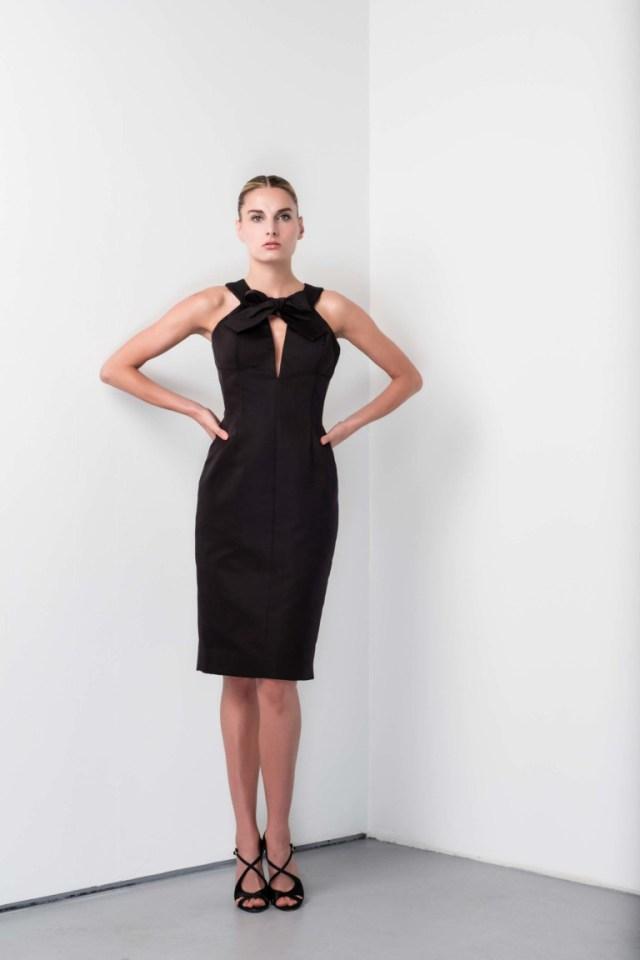 Модное платье футляр 2017 в деловом стиле из коллекцииBarbara Tfank
