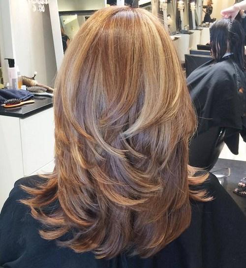 стрижки на длинные волосы 2017 женские - каскад
