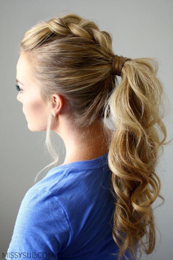 Причёска №4: принцесса Диснея