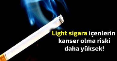 Light Sigara kanser