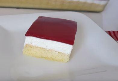 Vişne Soslu Pasta yapımı