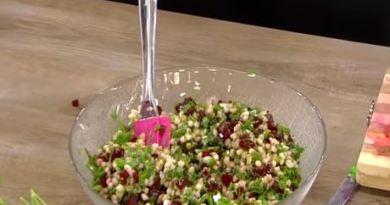 Buğday Salatası yapımı