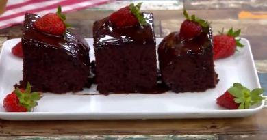 Çikolata Soslu Kek Tarif