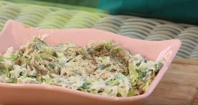 Tokluk Salatası yapımı