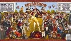 FreakShow Wine Label #1