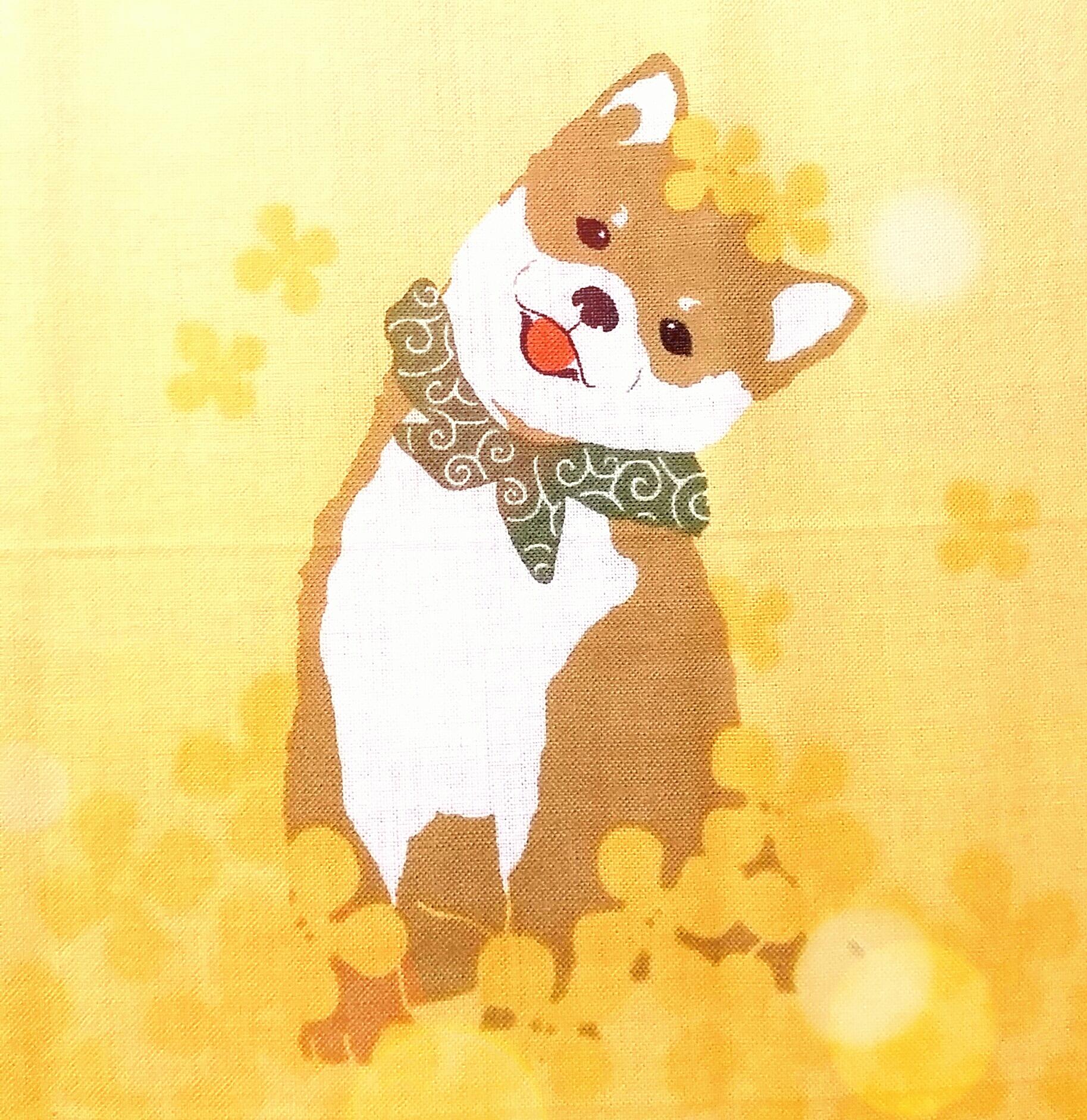 お気に入りの和雑貨「柴犬」手拭い