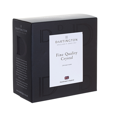 Dartington Crystal – Wibble Collection Bottle Glass Coaster in Gift Box