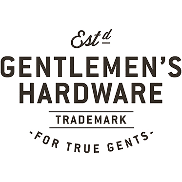 Gentlemen's Hardware – Silver LED Torch with Black Handle in Gift Box