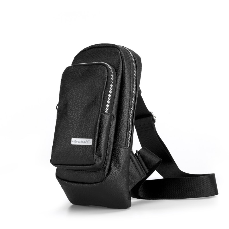Bombata – Black Classic Sling Pack Shoulder Bag
