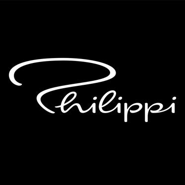 Philippi – Silver Biker Keyring in Presentation Gift Box
