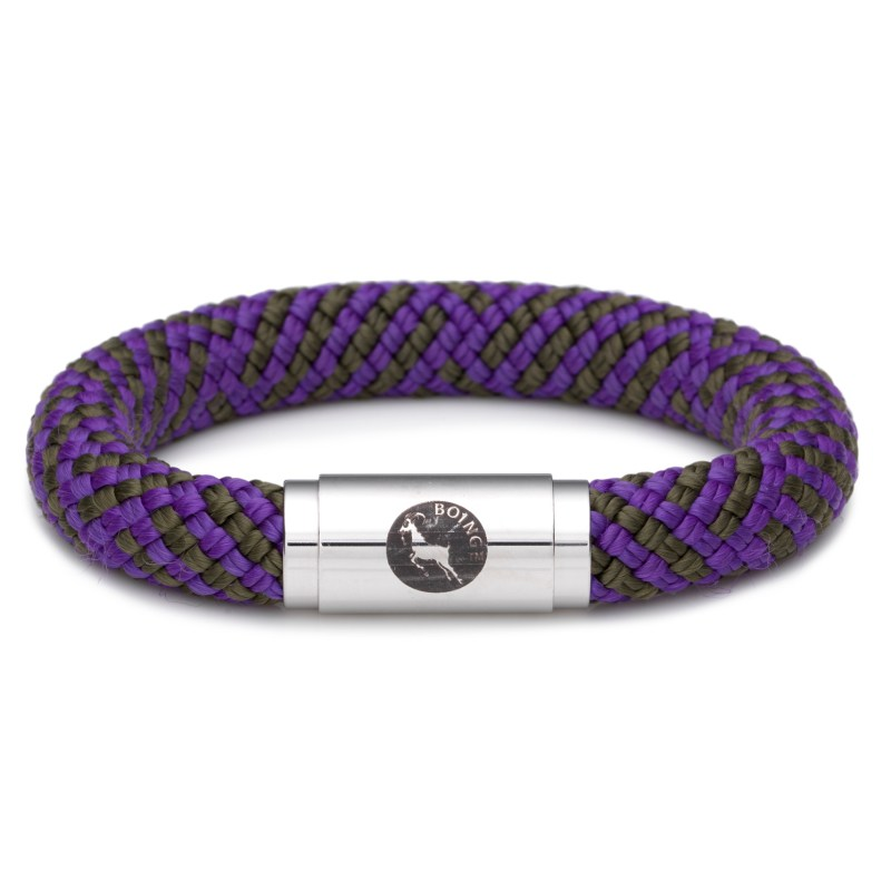 Boing – Chunky Large Wristband in Purple Emperor