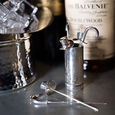 Culinary Concepts – Top Hat & Cane Olive Picks with Holder in Gift Box
