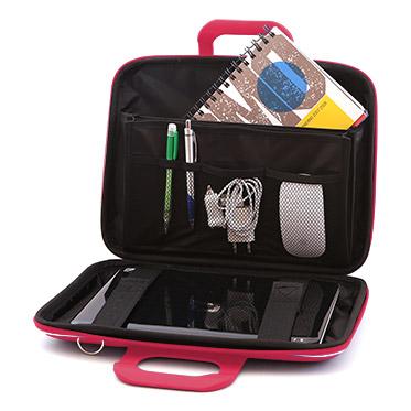 Bombata – Pink Medio Classic 13″ Laptop Case/Bag with Shoulder Strap
