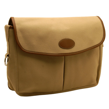 Home Works – Cream Canvas Fishing Style Messenger Bag