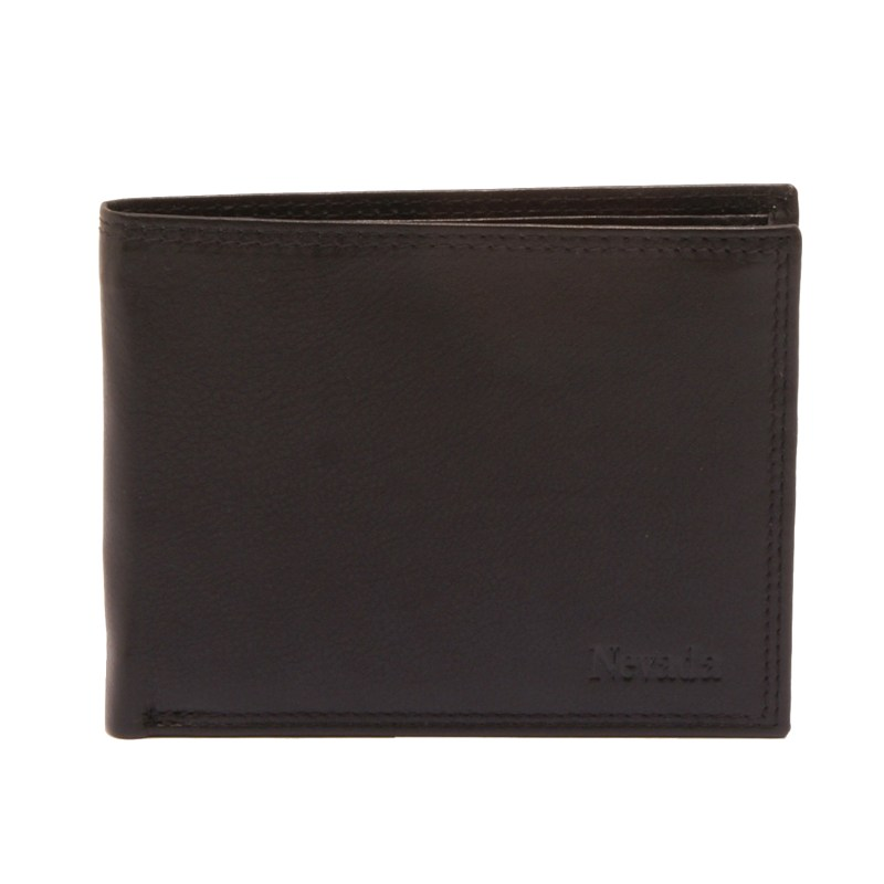 Hansson – Black Leather Nevada Classic Card Wallet