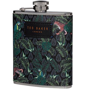 Ted Baker – Jungle Print Hip Flask
