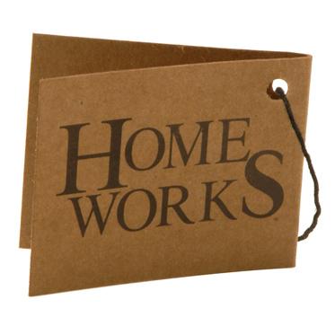Home Works – Brown Mock Nubuck Travel Organiser/Wallet