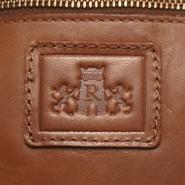 Rowallan – Small Tan Body Cross Messenger Bag in Soft Gaucho Leather