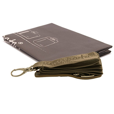 Bombata – Taupe Medio Cocco 13″ Laptop Case/Bag with Shoulder Strap