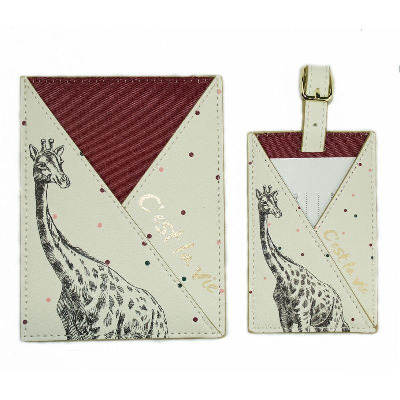 Yvonne Ellen – Giraffe 2 Piece C'est la vie Travel Set in Presentation Gift Box
