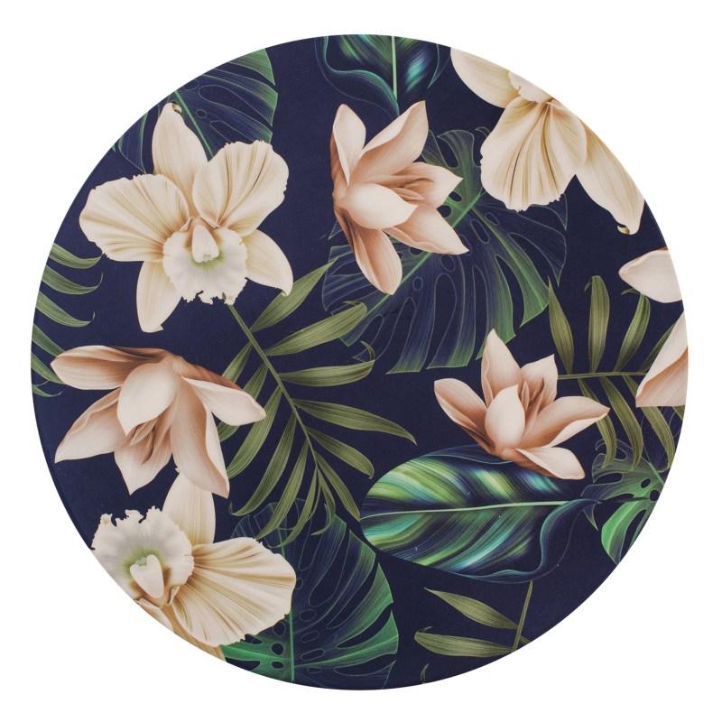 Navigate – Summerhouse 'Java' Bamboo Decorated Dinner Plate