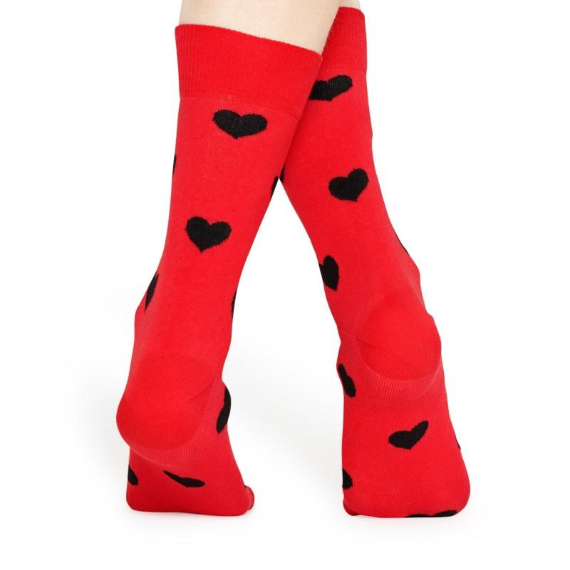 Happy Socks – Set of 3 Pairs of I Love You Socks in Love Presentation Gift Box